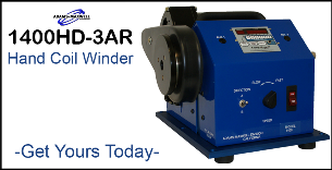 1400-3AR Heavy Duty Coil Winder